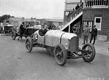 Royal Flying Corps PILOTA WG Barlow in una macchina Bentley 1922 7x5 pollici RISTAMPA FOTO