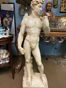 "1969 David Statue Sculpture 44"" Replica Reproduction"