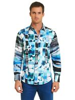 ROBERT GRAHAM MEN'S ARABIAN SEA L/S WOVEN PRINTED SHIRT TALL FIT $248 NWT