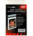 Внешний вид - Ultra Pro One Touch Resealable Bags | 100 CT | Compare to Team Bag | One-Touch