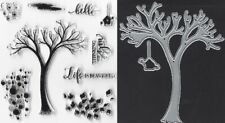 """Stamp Set """"Life Is Beautiful"""" with Coordinating Dies"""