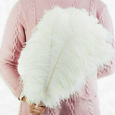 10 Pack 25-30cm Large Ostrich Feathers Plume Craft Christmas Party Decorations