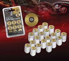 ACORN M12 X 1.5MM LUG NUTS W/ BULLET EMBLEM DECAL COMBO 20 PCS SET