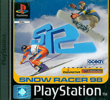 Snow Racer 98 Sony Playstation 1 PS1 3+ Racing Game