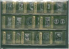 LESOTHO : UNISSUED SET OD 18 GOLD STAMPS 1965 - VERY NICE! ROYALTY  STAMPS