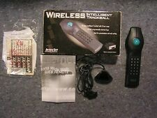 Interact PC Remote Control w Serial Receiver Wireless Web Remote Pro In Box HTPC