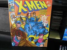 "X-MEN  Unused Sticker Book  ""Diamond 1993"""