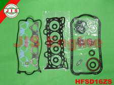 Honda 92-95 Civic EX/ Si del Sol Si 1.6L D16Z6 Vtec Full Gaske Set HFSD16ZS