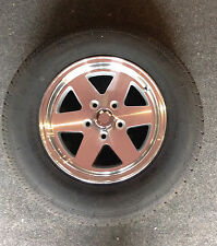 "14"" Alloy Wheel, Spare Mag Wheel, New Tyre/Rim (Suits Boat, Box and Car Trailer)"