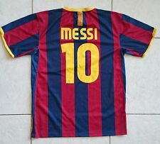 Lionel Messi Barcelonae 10# Soccer Jersey football Shirt Size 20