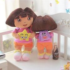 "9"" DORA THE EXPLORER Kids Girls Soft Cuddly Stuffed Plush Toy Doll free shippin"
