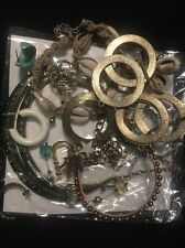 Huge Craft Harvest Vintage/modern Junk Drawer Jewelry Lot- LOOK READ!!