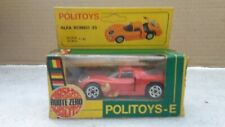 Politoys Italy ref e 583 alfa romeo 33 red nearly new + original box d