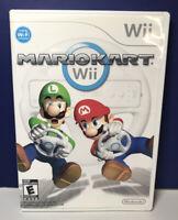 Mario Kart (Nintendo Wii, 2008) - CASE & MANUAL ONLY