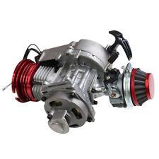 49cc 2 Stroke Racing Engine Motor for Pocket Quad Go kart ATV Pull Start zu01