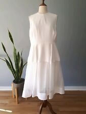 Yaww Sincerely womens layered mother of the bride white dress plus size 18
