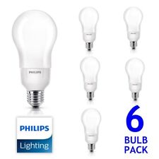 Scatola 6x PHILIPS MASTER 20 W E27 Lampadina a risparmio energetico bianco caldo bagliore morbido LAMPADA GLS 5