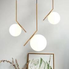 Glass Lamp Gold Pendant LightKitchen Chandelier Lighting Modern Ceiling Lights