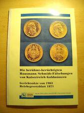█ Schmidt/Hausmann Reichs-Gold Münzprägungen Goldmark Goldmünze Kaiserreich