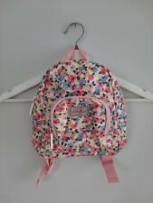 CATH KIDS Small Floral Oilcloth Backpack Nursery Bag