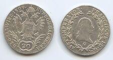 G5990 - RDR Österreich 20 Kreuzer 1809 C Prag Böhmen KM#2141 Franz II.1792-1835