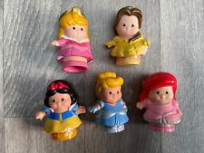 5 Fischer price little people Princesses, disney Princess Figures. Aurora Ariel