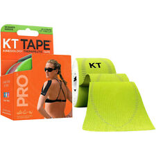 "KT Tape Pro 10"" Precut Kinesiology Elastic Sports Roll - 20 Strips - Green"