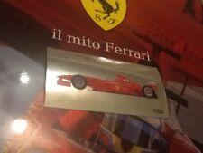 #43 Michael SCHUMACHER F300 il mito Ferrari Autocollant Preziosi collection 2010
