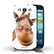Stuff4 Hülle/Case für Samsung Galaxy S3/SIII/Neugierige Giraffe/Lustige Tiere