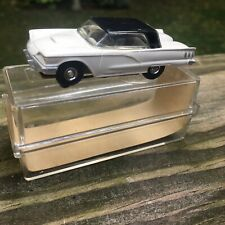 Vintage Aurora Slot Car Ho Scale 1959  Ford Thunderbird Blacktop In Case