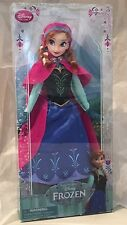 "US Disney Original Costume Princess Anna 12"" Classic Doll NIB!!! VHTF!! Frozen"