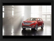 """FORD EDGE CONCEPT A3 FRAMED PHOTOGRAPHIC PRINT 15.7"""" x 11.8"""""""