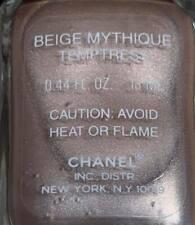 chanel nail polish Beige Mythique Temptress rare limited edition