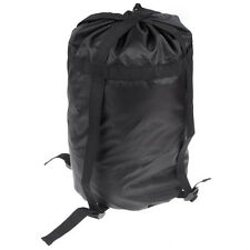 High capacity Compression Stuff Sack Bag Outdoor Camping Sleeping Black S T1
