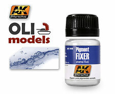 Pigment Fixer Enamel 35ml Bottle - AK Interactive 048