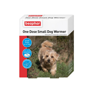 Beaphar One Dose Wormer for Dogs - 3 tablets