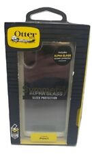 OtterBox SYMMETRY For iPhone X & XS Ultra Slim Hard Clear Case With Alpha Glass