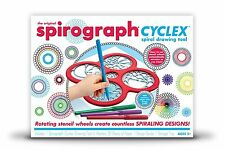 29 Piece Set Spirograph Cyclex Kit for Kids Art Drawing w Storage Tray & Markers