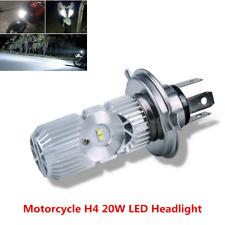 Motorcycle LED Headlight H4 1400LM 20W White 6000K High Low Beam Headlight Bulb