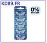 10  x  PILE Renata  386 PILE bouton  SR43W OXYDE ARGENT 386 1.55V 130mAh