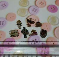 Lot Of 7 Vintage Religious Lapel Pinback Pins