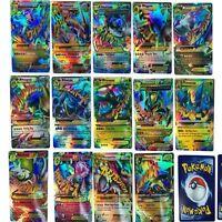New English 18PCS MEGA Pokemon Go Cards TCG Set with Pokemon EX Cards