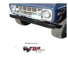 1966-1977 Early Ford Bronco OE Style Black Primered Bumper Front or Rear