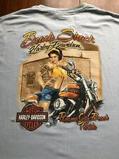 Harley Davidson T Shirt 4XL Panama City Beach Florida Sexy Lady