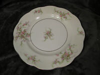 THEODORE HAVILAND NEW YORK ROSALINDE 10 1/2 DINNER PLATE, EXCELLENT CONDITION