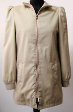 Light Weight Jacket~Lined~Front Zip Closure~Soft Beige~Mauve~Size 6~Gently Used
