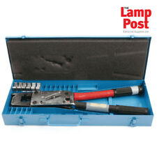 Termination Technology RT-150 Ratchet Controlled Crimper With Dies & Case