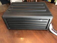 Skb Cases 1Skb-R4S 4U Shallow Roto Rack Steel Rails W/ 10.5-Inch Deep (1Skbr4S)