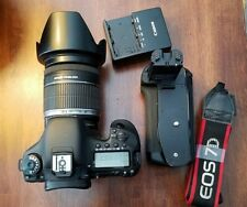 Canon EOS 7D 18.0MP With 18-200mm Lens, Grip, 4578 Shutter Count!