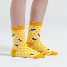 Sock It To Me Junior Crew Socks - Bee's Knees - Age: 7-10
